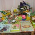 Выставка поделок совместного детского и родительского творчества «Пасхальная палитра»