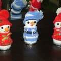 Мастер-класс «Снеговики из детских носочков своими руками»