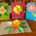 Восьмое марта— светлый день весны (подготовка и детское творчество к празднику)— фотоотчет