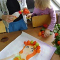 Коллективная работа «Красавица осень». Детский мастер-класс