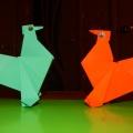 Символ 2017 года «Петух» в технике оригами. Мастер-класс