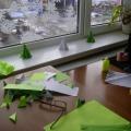 Мастерская Деда Мороза. Елочки в предновогоднем детском творчестве (часть 3). Фотоотчет