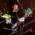 Синички и другие птички в технике оригами. Очень простой мастер-класс