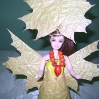 Мастер-класс «Осень и солнышко» с использованием осенних листьев. Совместное творчество детей и воспитателя