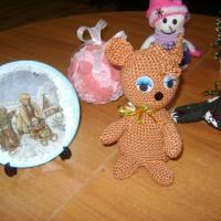 Фотоотчет о совместном творчестве педагогов и детей «Елочные игрушки своими руками»