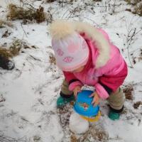 Конспект познавательной прогулки «Наблюдение за снегом»