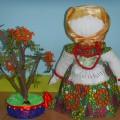 Мастер-класс по изготовлению куколки— оберега «Рябинушка».