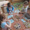 Совместная деятельность с детьми младшей группы. Творческая мастерская: «Домик для птиц» (аппликация).