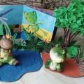Творческие идеи и дидактический материал для проведения тематического дня «Лягушка-подружка».