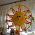 Конспект занятия по рисованию «Солнце в гости к нам пришло» для детей первой младшей группы