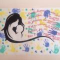 Поздравительные стенгазеты— коллективные работы с детьми и родителями