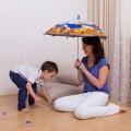 Конспект занятия «Дождик» для группы мам с детьми до 4 лет