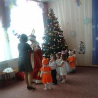 Фотоотчёт о празднике в группе раннего возраста «Новый год»