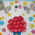 Мастер-класс. Изготовление стенгазеты «Поздравительная открытка к 8 марта для всех женщин детского сада»