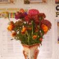 Осень— время ярких красок. Выставка букетов в детском саду
