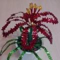 Мастер-класс по конструированию из пайеток для детей 6–7 лет «Аленький цветочек»