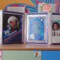 Фотоотчет о коллективной аппликации «День космонавтики» в старшей группе