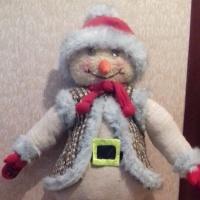 Мастер-класс к Новому году «Снеговик»