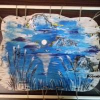 Выставка работ, выполненных на бересте