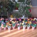 Как мы делали цветы для наших мам! (разновозрастная средне-старшая группа).