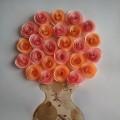 Мастер-класс «Объемные розы из бумаги»