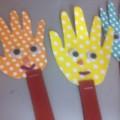 Игровой материал «Весёлые ладошки»