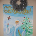 Конкурс новогодних поделок и рисунков «Новогодняя сказка» (фотоотчёт)