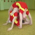 Фототчёт о кружковой работе с одарёнными детьми в детском саду. Акробатика