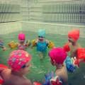 Фотоотчёт «Малыши в бассейне»