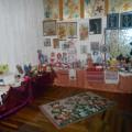 Фотоотчет о выставке декоративно-прикладного творчества «У мамы руки золотые»