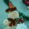 Конкурс совместного творчества детей и их родителей «Неснежный снеговик» (фототчёт)