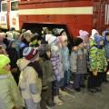 Экскурсия в пожарную часть (фотоотчёт)