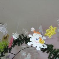 Фотоотчет совместного творчества воспитанников и родителей «Самая креативная снежинка»