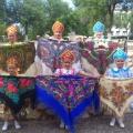 Русский народный танец с платками на песню «Ой, ты, Порушка»
