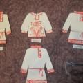 Конспект занятия по декоративному рисованию для детей с нарушением слуха «Славянские узоры на рубашке»