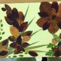 Коллажи из осенних листьев. Детские поделки. Аппликация