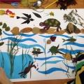 Мастер-класс с родителями и детьми «Пейзаж из природных материалов»