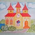 Конспект НОД по изобразительной деятельности в подготовительной группе детского сада «Волшебный замок»