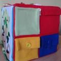 Открытое занятие по сенсорному развитию в первой младшей группе «Волшебный куб»