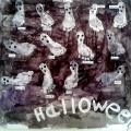 Нетрадиционная техника рисования детскими пяточками «Мир Хэллуина» в первой младшей группе-фотоотчет