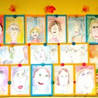 Фотоотчет о выставке портретов на день пожилого человека детей из подготовительной группы «Бабушки и дедушки наши дорогие!»