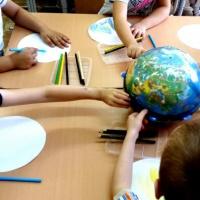 Конспект занятия по формированию целостной картины мира в подготовительной группе «Земля— наш общий дом»