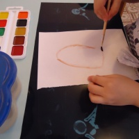 Конспект непосредственно образовательной деятельности по рисованию в средней группе «Жили-были»