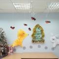 Оформление групповой комнаты «Новый год пришел к нам в гости»