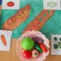 Комплексное занятие во второй младшей группе «Овощи-фрукты»