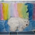 Конспект НОД по аппликации из ваты для подготовительной к школе группы «Белый медведь»