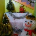 Новогоднее оформление холла в детском саду «Сказка не кончается, сказка начинается»