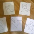 Дидактическая игра-танграм «Заюшкина избушка»