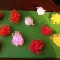 Дидактическая игра «Цветочки на лужочке» для детей своими руками