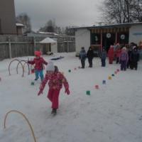 Фотоотчет «Спортивный праздник «Зимние забавы» для детей старшего дошкольного возраста»